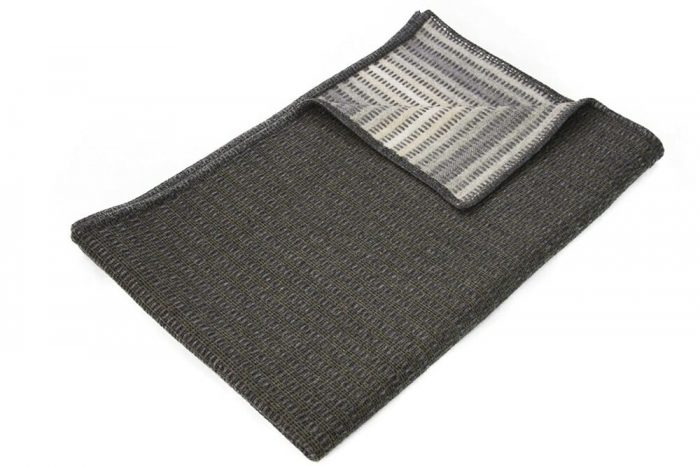 Wool Throw Nature Colors Top